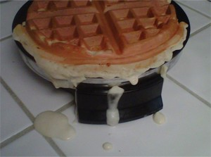 waffle-mess